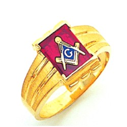 Blue Lodge Ring GLCS1170BL