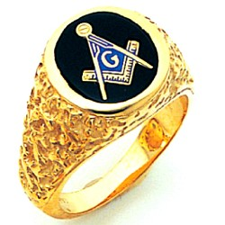 Blue Lodge Ring GLCS1198BL