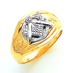Blue Lodge Ring MAS1676BL