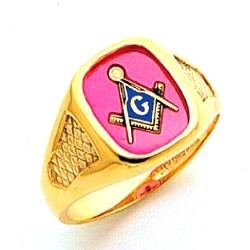Blue Lodge Ring MAS60338BL