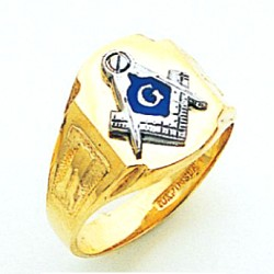 Blue Lodge Ring MAS725BL