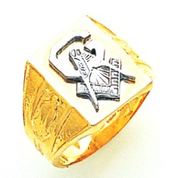 Blue Lodge Ring MAS819BL