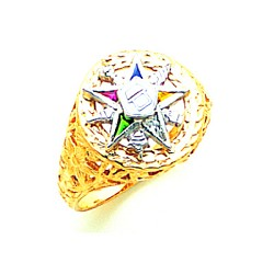 Order of the Eastern Star Ring GLC239ES