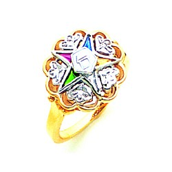 Order of the Eastern Star Ring GLC275ES