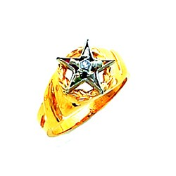 Order of the Eastern Star Ring HOM581ES