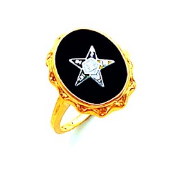Order of the Eastern Star Ring HOM584ES