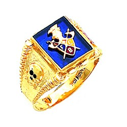 Knights of Pythias Ring HOM294KP