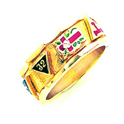 Scottish Rite Ring GLC785