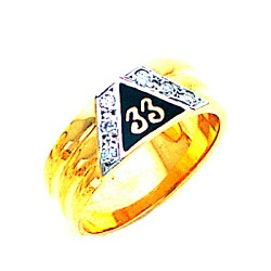 Scottish Rite Ring MAS1148D 8.5MM