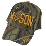 Mason Square & Compass Masonic Adjustable Baseball Cap