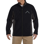Worshipful Master's Square Embroidered Masonic Men's Soft Shell Jacket