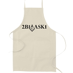 2B1ASK1 Square & Compass Masonic Cooking Kitchen Apron