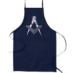 Square & Compass Masonic Cooking Kitchen Apron