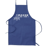 Mason 2B1ASK1 Masonic Cooking Kitchen Apron