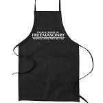 The Real Secret of Freemasonry Making Good Men Better Masonic Cooking Kitchen Apron