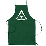 Simple Past Master Masonic Cooking Kitchen Apron
