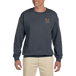 Knights Templar Embroidered Masonic Men's Fleece Crew Sweatshirt