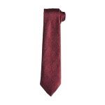 Square & Compass Masonic Neck Tie - [Maroon]