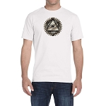 All Seeing Eye Masonic Men's Crewneck T-Shirt