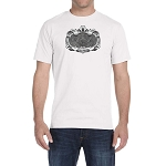 Freemason Square & Compass Masonic Men's Crewneck T-Shirt