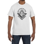 Meet Upon The Level Part Upon The Square Masonic Men's Crewneck T-Shirt