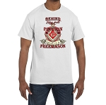 Behind Every Great Person There is a Freemason Masonic Men's Crewneck T-Shirt