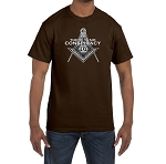 There Is No Conspiracy Masonic Men's Crewneck T-Shirt