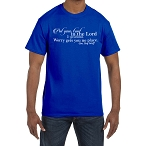Put Your Trust in the Lord and Go Ahead Worry Gets You No Place Masonic Men's Crewneck T-Shirt