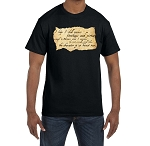 I Hope I Shall Possess Firmness and Virtue Enough to be an Honest Man Masonic Men's Crewneck T-Shirt