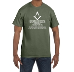 Your Job is to Lift the Fallen Restore the Broken Heal the Hurting Masonic Men's Crewneck T-Shirt