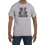 Do it Because it's in Your Heart not Because You Want Something in Return Masonic Men's Crewneck T-Shirt