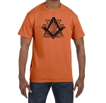 I Looked for a Master Until I Realized I am the Master that has to Master Myself Masonic Men's Crewneck T-Shirt