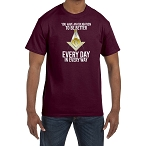 You Have an Obligation to be Better Every Day in Every Way Masonic Men's Crewneck T-Shirt