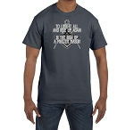 To Lose it All and Rise Up Again is the Sign of a Master Mason Masonic Men's Crewneck T-Shirt
