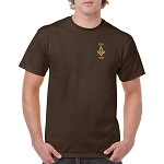 Prince Hall 1787 Embroidered Masonic Men's Crew Neck T-Shirt