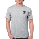 32nd Degree Embroidered Masonic Men's Crew Neck T-Shirt