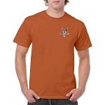 Order of the Eastern Star Embroidered Masonic Men's Crew Neck T-Shirt