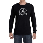 2B1 ASK1 Square & Compass Round Masonic Men's Crew Neck Long Sleeve T-Shirt - [LongSleeve]