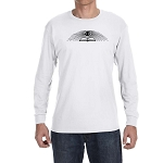 All Seeing Eye Over Sacred Volume Masonic Men's Crew Neck Long Sleeve T-Shirt - [LongSleeve]