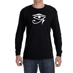 Eye of Horus Masonic Men's Crew Neck Long Sleeve T-Shirt - [LongSleeve]