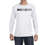 I am a Traveler Square & Compass Masonic Men's Crew Neck Long Sleeve T-Shirt - [LongSleeve]
