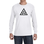 Royal Arch Triangle Masonic Men's Crew Neck Long Sleeve T-Shirt - [LongSleeve]