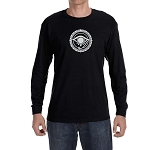 All Seeing Eye Round Masonic Men's Crew Neck Long Sleeve T-Shirt - [LongSleeve]