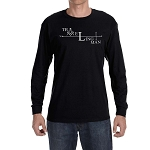 Traveling Man Square & Compass Masonic Men's Crew Neck Long Sleeve T-Shirt - [LongSleeve]