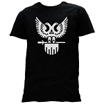 32nd Degree (Wings Up) Scottish Rite Masonic Men's Crewneck T-Shirt - [Black]