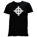 Celtic Cross Masonic Men's Crewneck T-Shirt - [Black]