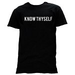 Know Thyself Masonic Men's Crewneck T-Shirt - [Black]