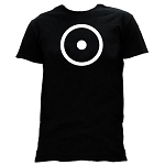 Point within a Circle Masonic Men's Crewneck T-Shirt - [Black]
