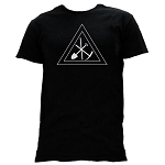 Royal Arch Working Tools Masonic Men's Crewneck T-Shirt - [Black]