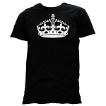 York Rite Crown Masonic Men's Crewneck T-Shirt - [Black]
